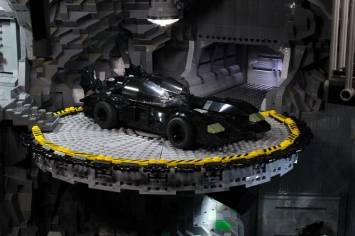 The Bat Cave in Lego