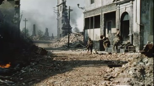 Ruined village in  Saving Private Ryan