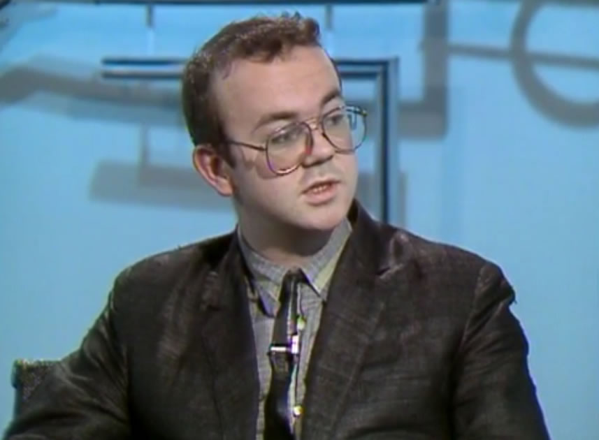 What is it with those glasses Ian Hislop?