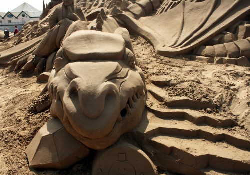 Ten Incredible Sand Sculptures