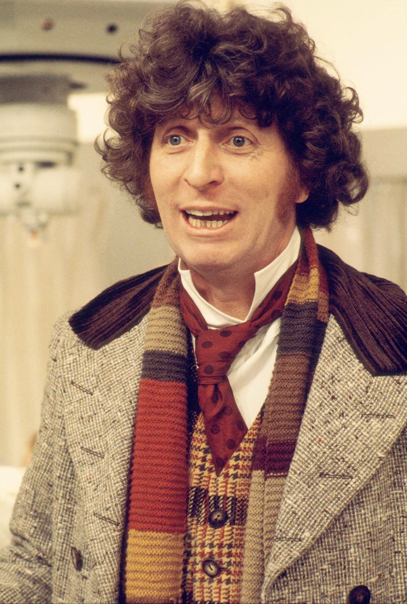 Tom Baker as Doctor Who. Credit: BBC