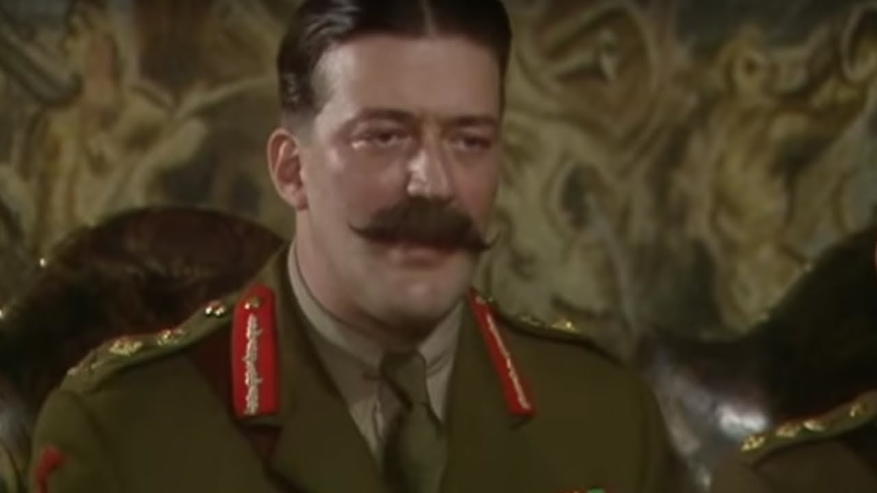 Stephen Fry as General Melchett BBC