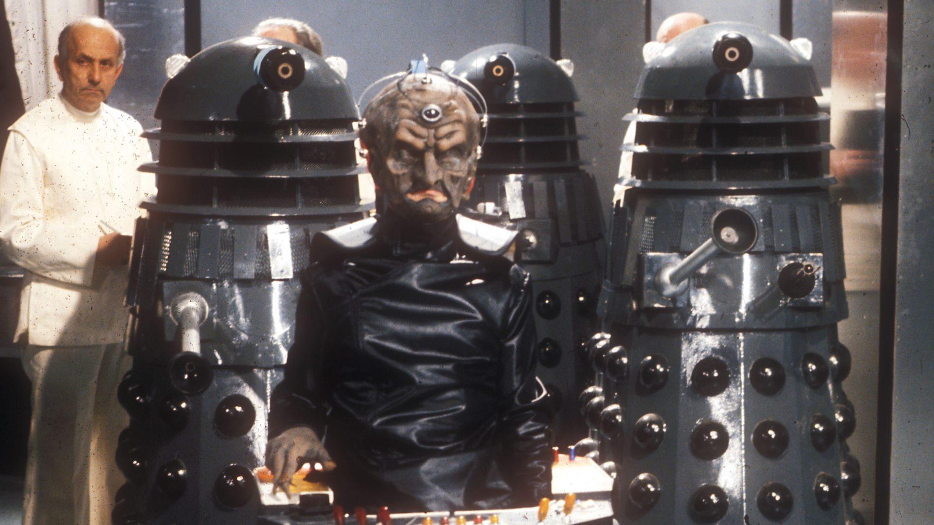 Genesis of the Daleks. Credit: BBC