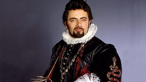 Rowan Atkinson as Blackadder BBC