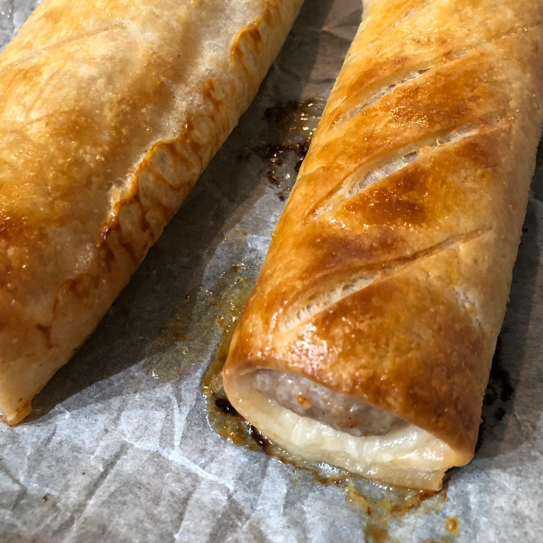Homemade Gluten Free Sausage Rolls