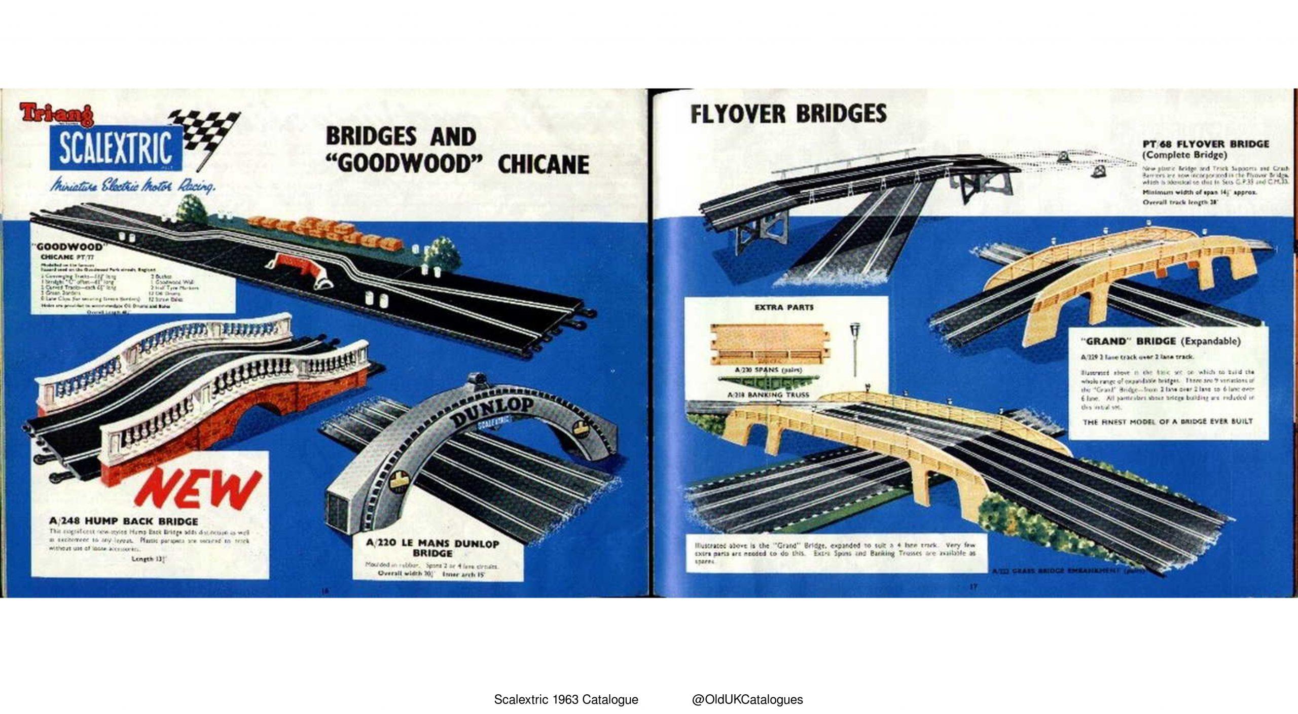 Scalextric Bridges